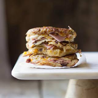 Muenster & Apricot Monte Cristo Sandwiches.