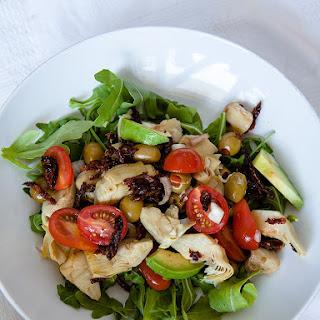 Artichokes and Tomato Salad