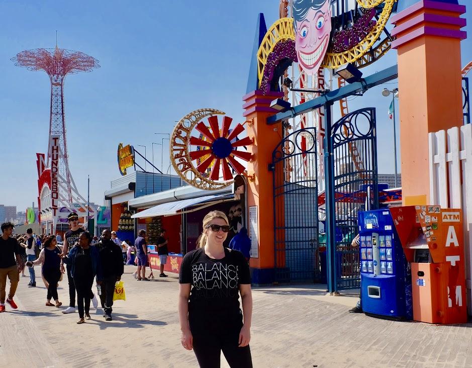 Coney Island Parachute Drop