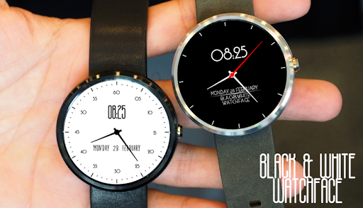 Black White Watchface