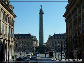 Photo: Plaza de la Vendôme. París. www.viajesenfamilia.it
