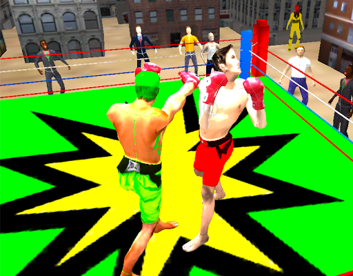 Mortal Street Boxing Fighting
