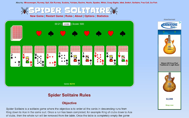 Www Spider Solitaire