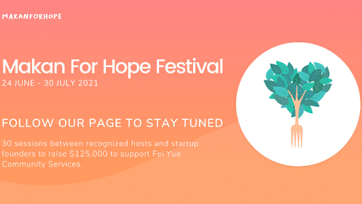 In brief: 'Makan For Hope' to raise US$125K for SG's vulnerable communities
