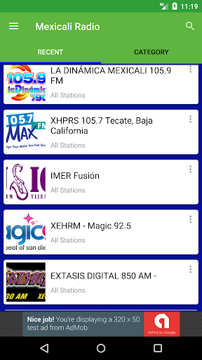 Radio Fm Mexicali  screenshots 4