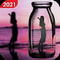 Photo editor 2021: PIP camera photo collage maker icon
