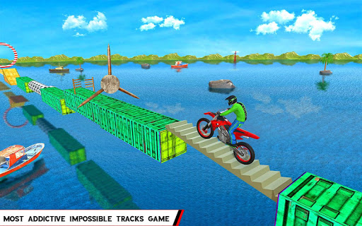 Water Games 3D: Stuntman Bike Water Stunts master 2.0.5 screenshots 1