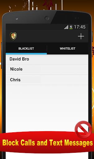 Block Calls and Texts Messages