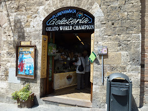 Photo: Gelato Champion shop by the old town square