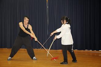 Photo: Chinese Opera Combat, Fall 2011