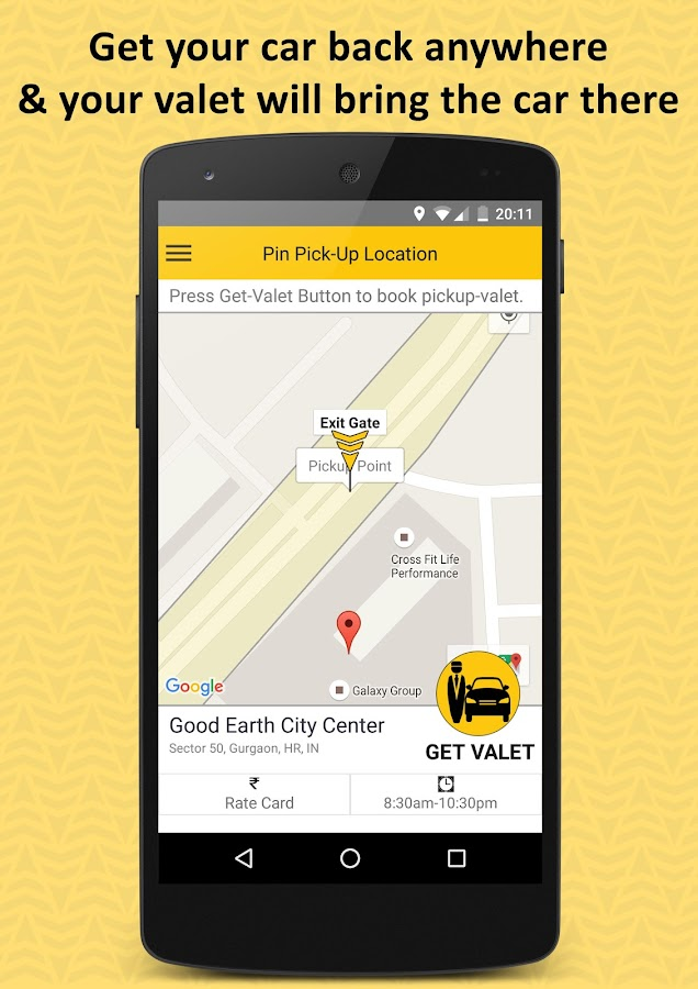 Valefy: Parking. On-Demand- screenshot