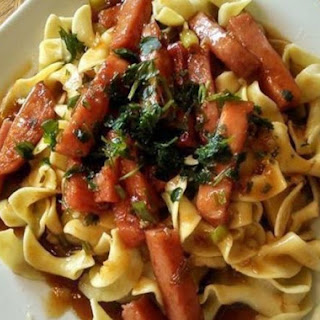 Hawaiian Spam with Noodles Recipe