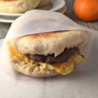 English Muffin Breakfast Sandwich.