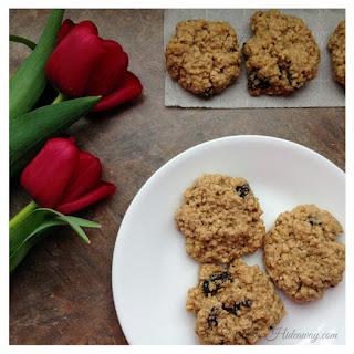 Gluten-Free Oatmeal Raisin Cookies.