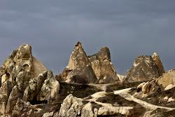 tra i monti della cappadocia