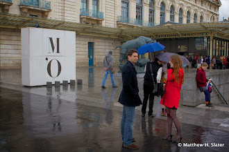 Photo: Rainy day at the Musée d'Orsay