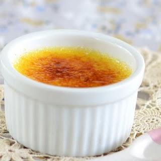 Ginger Crème Brulée.