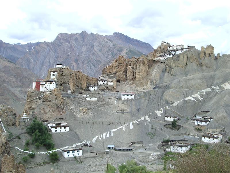 Dhankar Gompa Spiti Valley. di terazuc