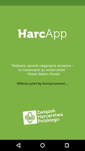 HarcApp - náhled