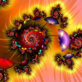 Spiral 79 by Cassy 67 - Illustration Abstract & Patterns