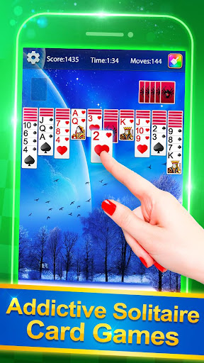 Solitaire Plus - Free Card Game screenshots 2
