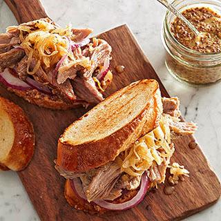 Sauerkraut and Pork Shoulder Roast.