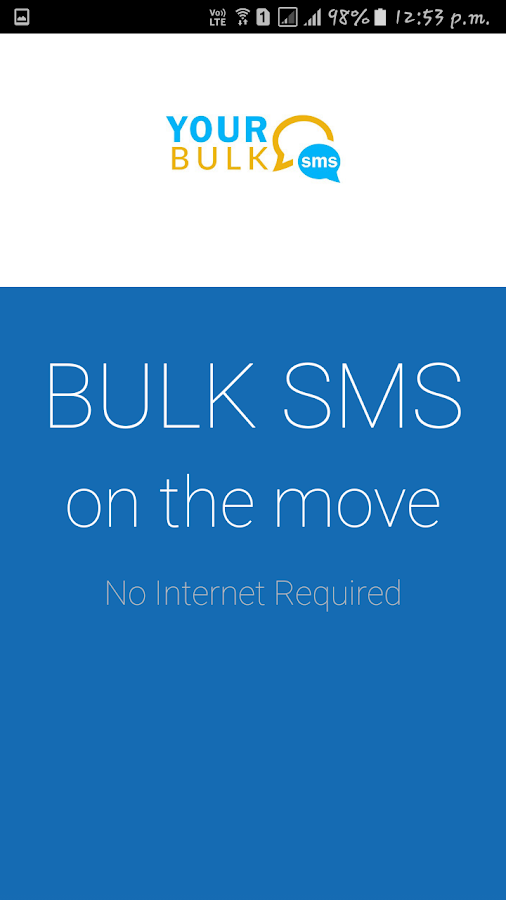 Yourbulksms.com- screenshot