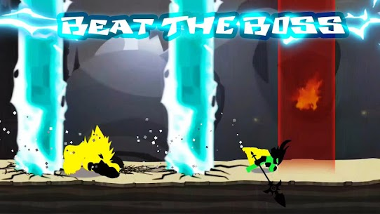 Stickman The Flash MOD APK 1.53.13 [God Mode] 2