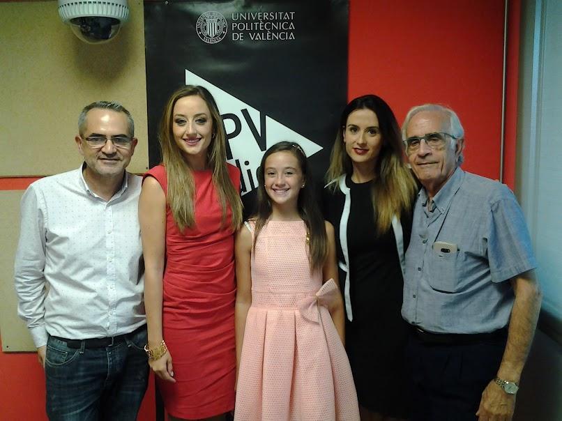 Hablemos de Fallas en UPV-RADIO. Programa nº 57. Rocío y Daniela FFMMV2018