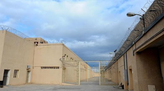Accesos a la prisión del Acebuche.