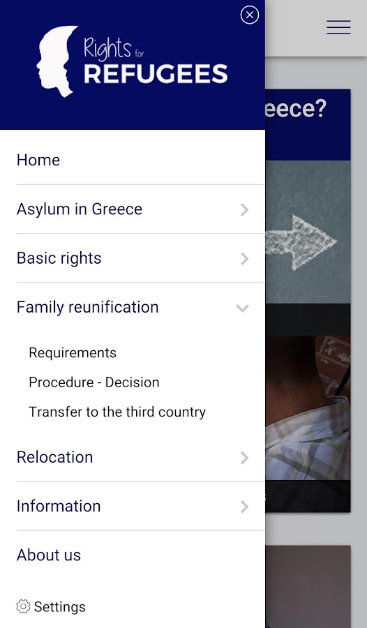 Rights4Refugees- screenshot