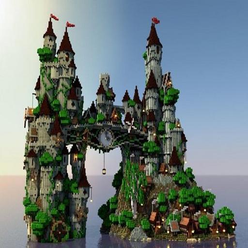 minecraft castle design small