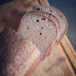 Vegan Teff Sandwich Bread.
