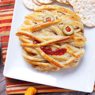 Mummy Baked Brie.
