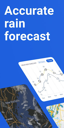 RainViewer: Doppler Radar & Weather Forecast screenshots 1