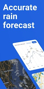 RainViewer: Doppler Radar & Weather Forecast Screenshot
