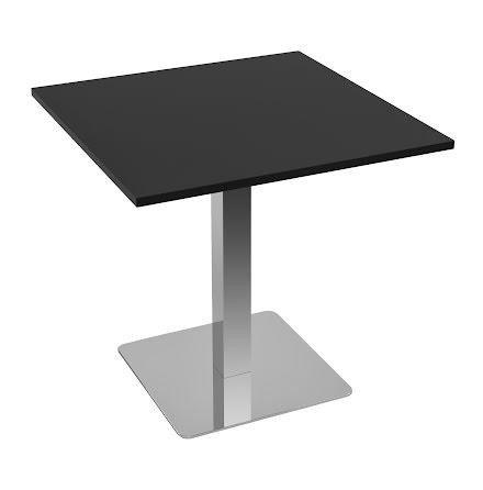 Cafébord 800x800 svart
