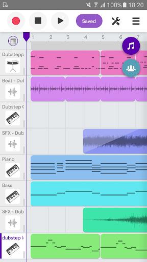 Soundtrap - Make Music Online 1.9.6 screenshots 1