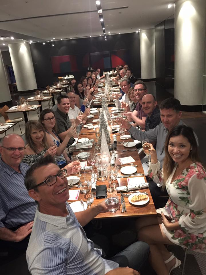 PARADOX Marketing Masterclass dinner