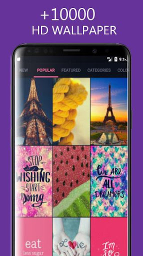 Girly Wallpapers Backgrounds 3.1 gameplay | AndroidFC 2