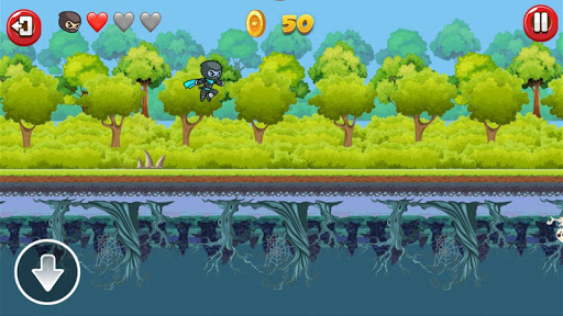 Ninja Run Up and Down apkmind screenshots 12