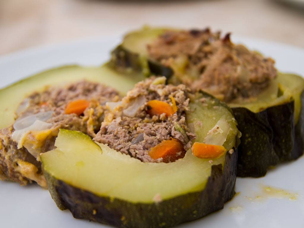 how to make stuffed zucchini with ground beef