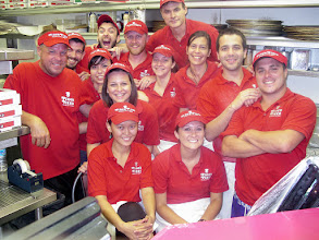 Photo: Hello from Pino`s Pizza Ocean City Maryland USA! This is part of my 2011 crew from, most from Bulgaria and America.  Hope to see you in 2013 for our 32nd year!  We re-open Friday 3/29/2013   Jim Hofman    Owner/Operator/Pizza Inspector for 20 years
