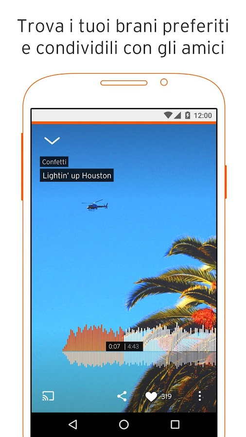 SoundCloud - musica e audio- screenshot