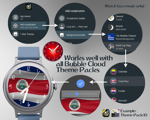 World Cup watch face background image complication  screenshots 3