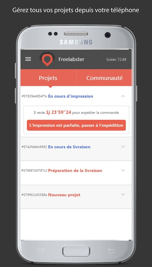 Freelabster #lab manager- screenshot
