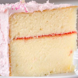 Sturdy & Moist White Cake