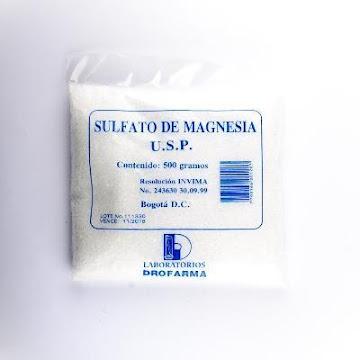 Sulfato De Magnesia