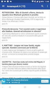 Napoli Notizie - náhled