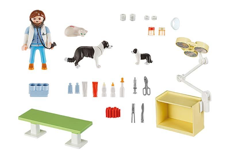 Contenido real de Playmobil® 5653 Maletín Veterinaría